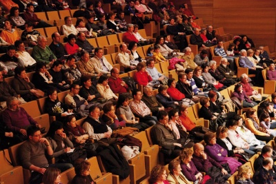 Público en la sala sinfónica
